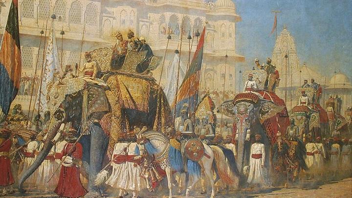 Самое большое полотно Верещагина представлено после реставрации в Калькутте