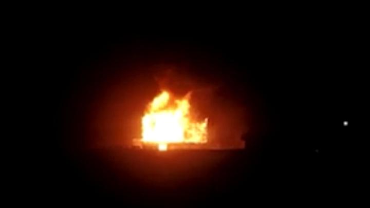 В Егорьевске сгорела дача бывшей жены гитариста Дидюли