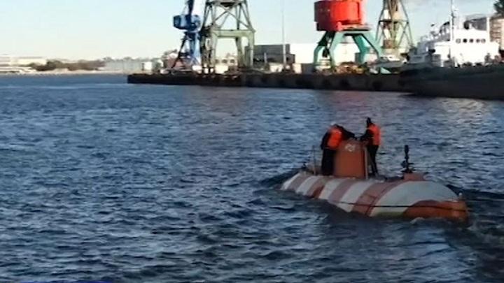 Глубоководный аппарат ЧФ впервые после модернизации погрузился на 200 метров