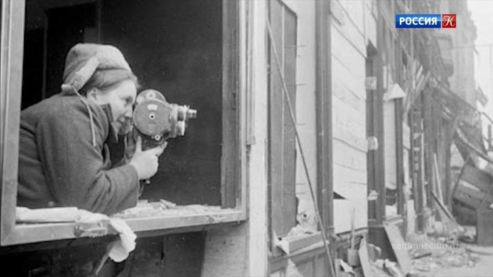 Из цикла «Цена кадра»: фронтовой кинооператор Оттилия Рейзман