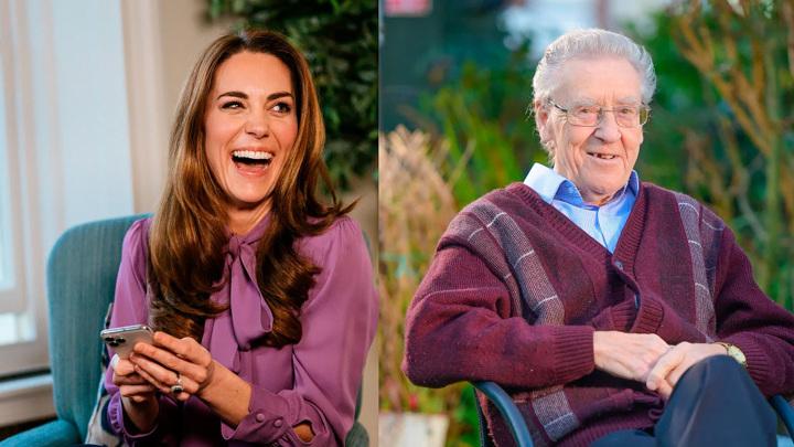 Кейт Миддлтон подружилась с одинокими пенсионерами