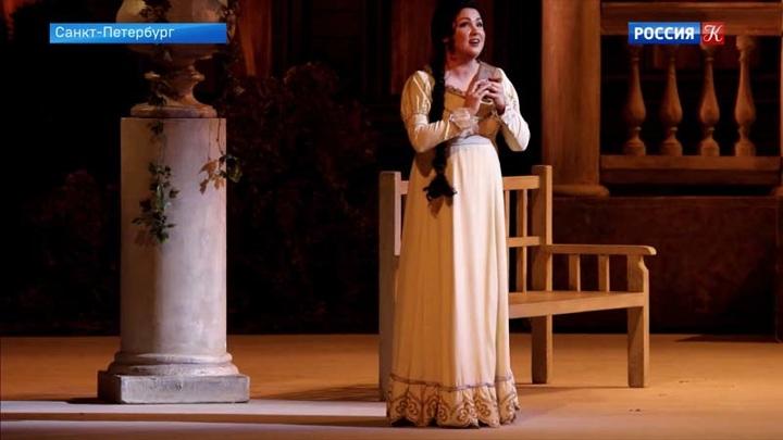 В Мариинском театре Анна Нетребко исполнила партию Татьяны в опере «Евгений Онегин»