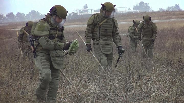 В Нагорном Карабахе продолжается разминирование территории
