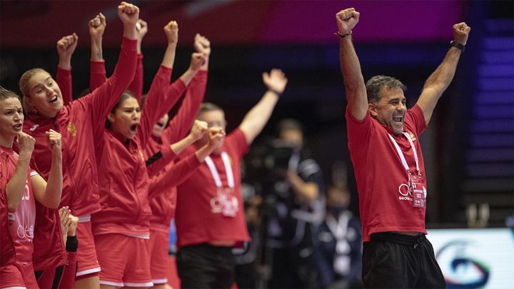 Российские гандболистки выиграли путевку на Олимпиаду