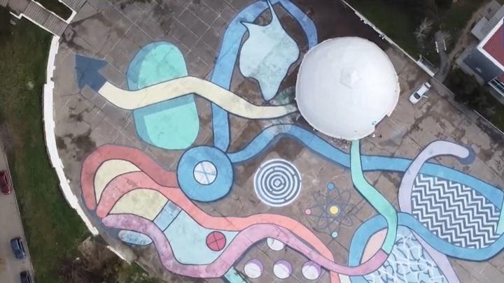 В Севастополе появился арт-объект площадью 3000 квадратных метров