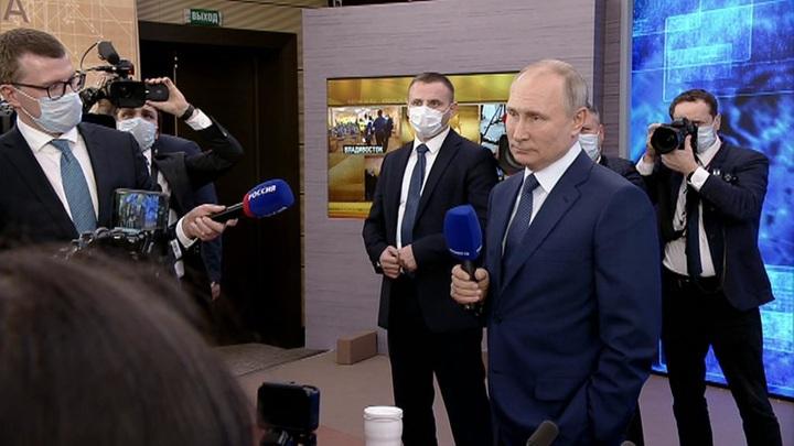 Путин рассказал, собираются ли в стране вводить локдаун