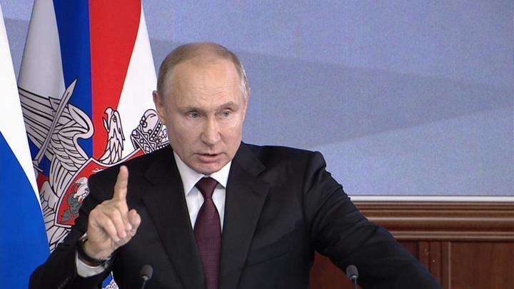 Путин: армия вышла на уровень, позволяющий гарантированно обеспечить безопасность России