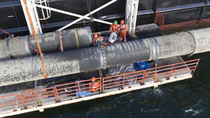 """Работы по """"Северному потоку-2"""" в водах Дании начнутся 15 января"""