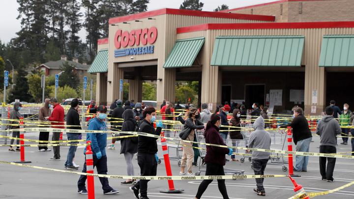 Costco очередь в магазине банкротство ЕПА