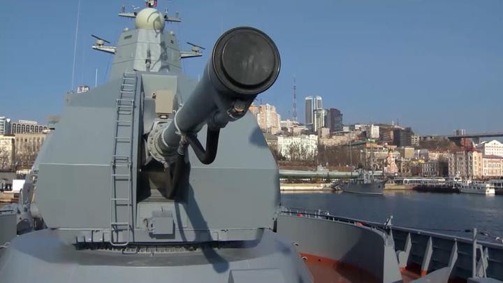 "Тихоокеанский флот пополнил корвет ""Алдар Цыденжапов"""