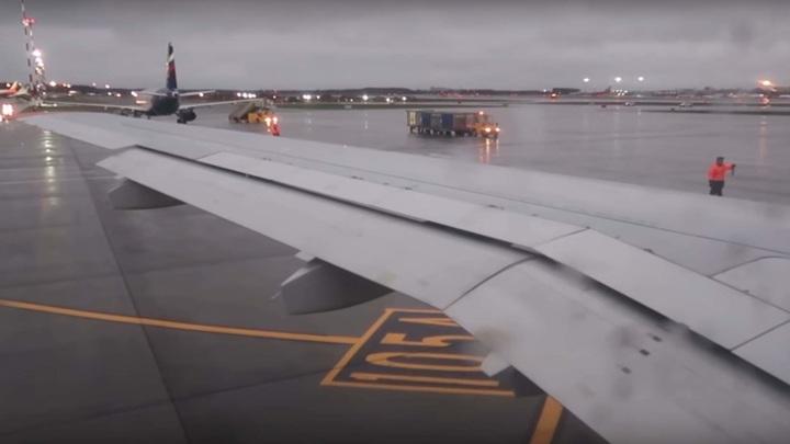 Подавший сигнал тревоги Airbus A320 штатно сел в Шереметьево