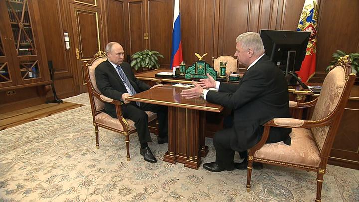 Путин призвал проработать вопрос индексации пенсий работающих пенсионеров