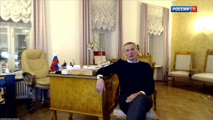 Беседа с руководителем балетной труппы Большого театра Махаром Вазиевым