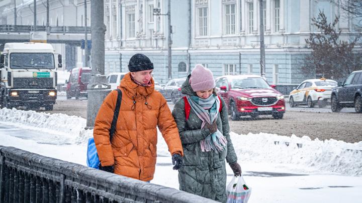Центр России ожидает рождественское похолодание