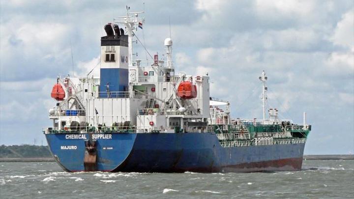 Иран задержал южнокорейское судно из-за нефтяного следа