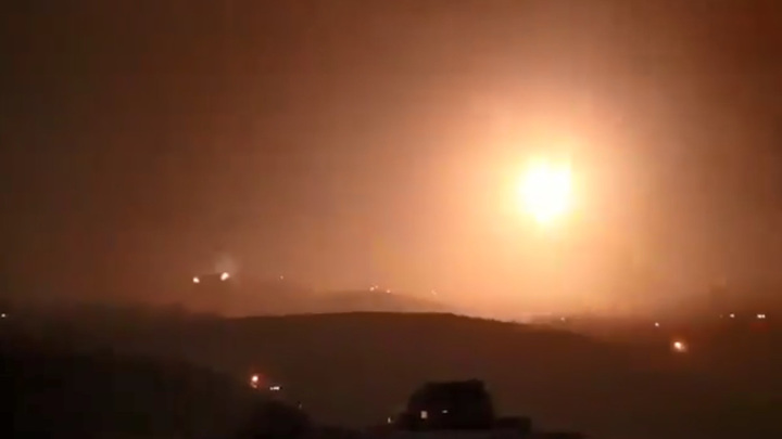 Израиль нанес ракетный удар по сирийскому аэродрому, есть раненые