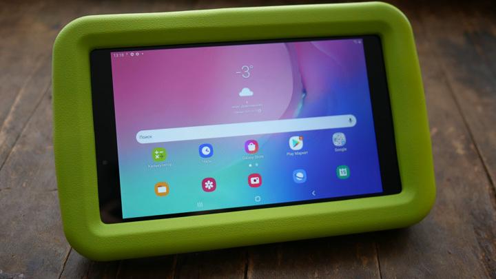 Обзор Samsung Galaxy Tab A 8.0 Kids Edition: планшет для детей и родителей