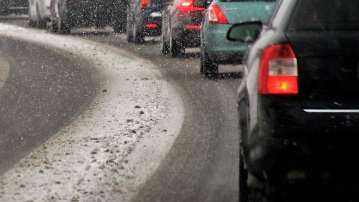 Загруженность дорог Москвы достигла восьми баллов