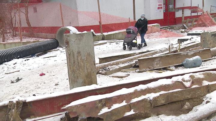 Реконструкция трассы в Жуковском стала для местных жителей кошмаром
