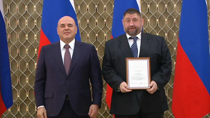 """Журналист """"России"""" Александр Сладков получил премию правительства"""