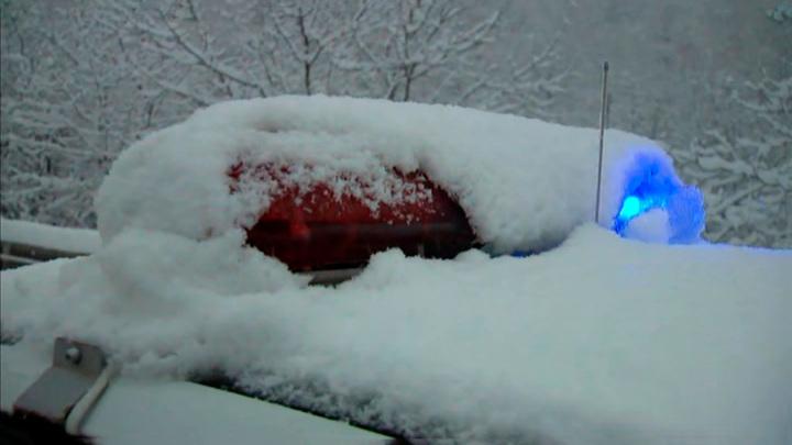 Уборка снега на Дороге жизни закончилась стрельбой