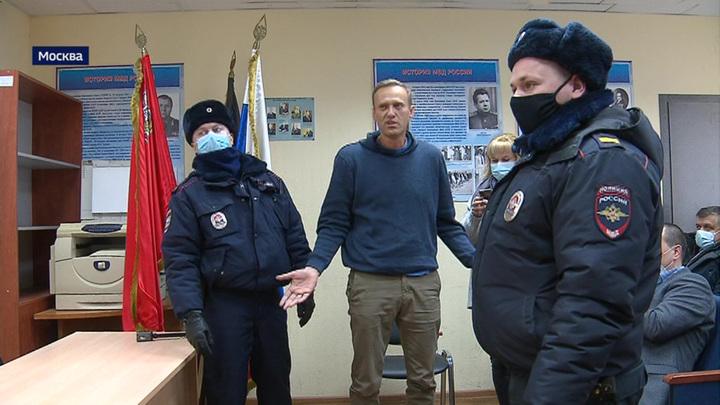 К Навальным пришли с обыском из-за нарушения санитарных норм