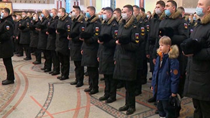 Военные моряки в Кронштадте первыми отпраздновали Крещение Господне