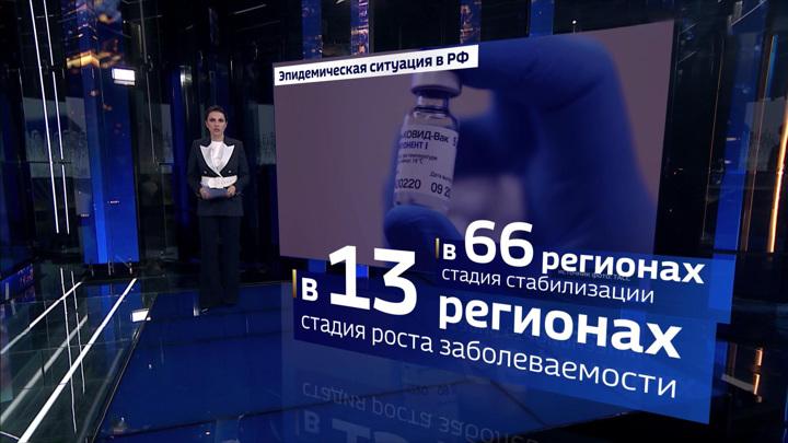 Где болеют меньше, а где больше: ситуация с COVID-19 в России