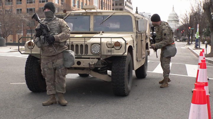 ФБР опасается солдат, стянутых на инаугурацию Байдена