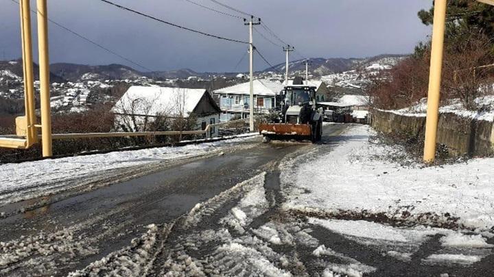 Все дороги Сочи расчищены от снега