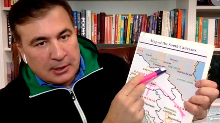 Саакашвили обвинил русских туристов в распространении ковида