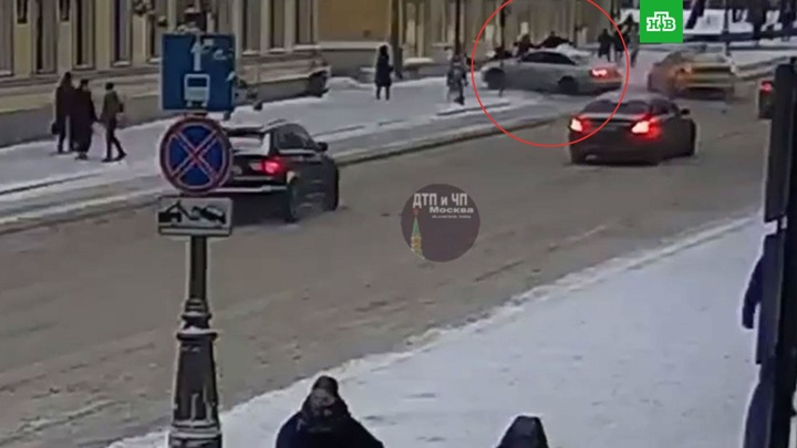 Пострадавшей в ДТП на Воздвиженке в Москве оказалась актриса Лилия Мачулка