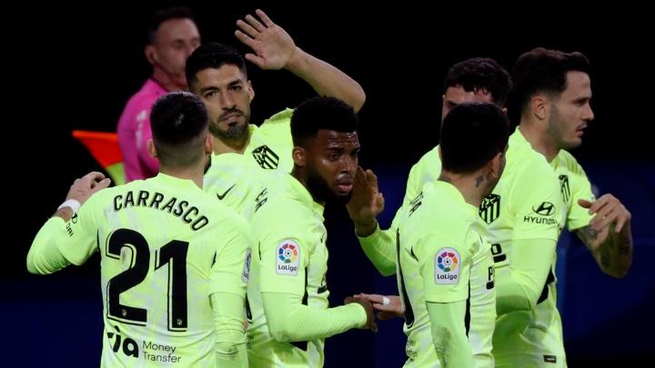 """Суарес принес """"Атлетико"""" шестую победу подряд в чемпионате Испании"""