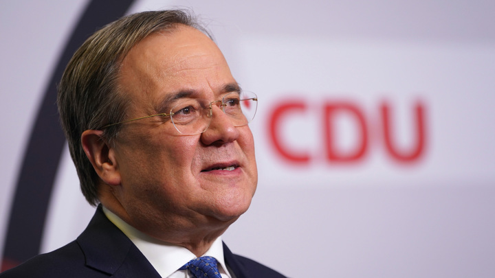 Армин Лашет официально стал председателем ХДС