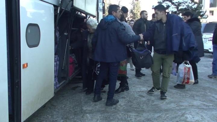 Еще 137 беженцев вернулись в Нагорный Карабах