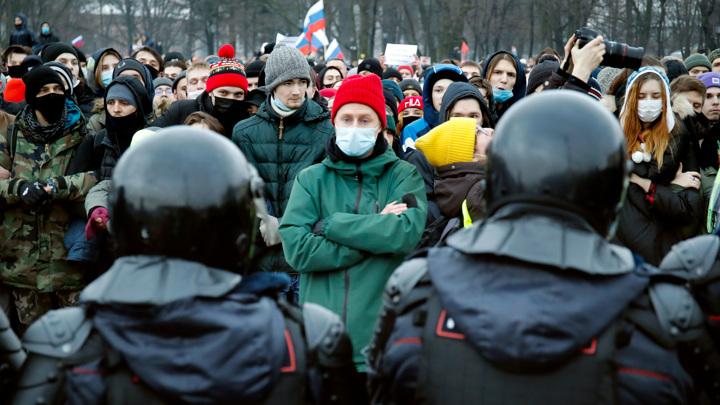 МВД: за участие в акции 23 января к ответственности привлечены 267 человек