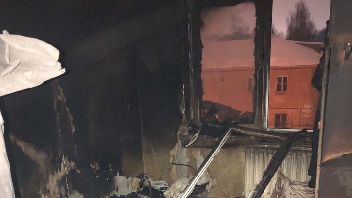 В Рыбинске в сгоревшей квартире обнаружено тело мужчины