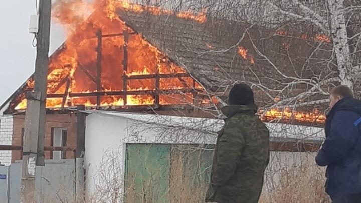 27 за три дня. В Самарской области произошел очередной пожар