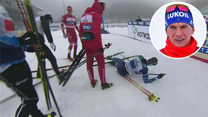 Финская полиция завела дело на лыжника Большунова
