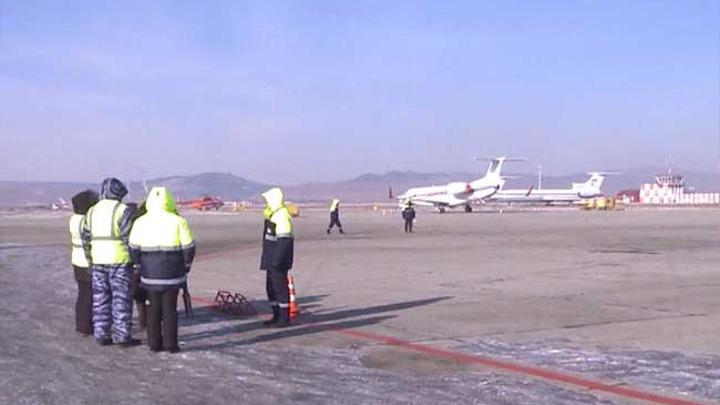 В Чите из-за осадков нарушена работа аэропорта