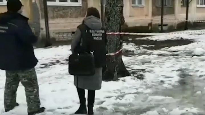Тверские следователи завели дело после падения ледяной глыбы на ребенка