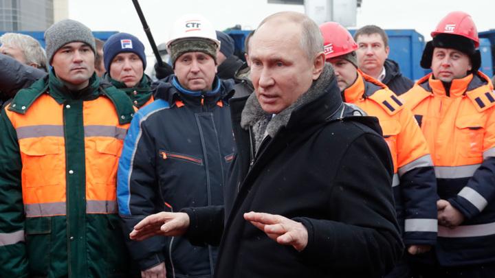 """Путин: у нас большие планы по """"сшиванию"""" страны"""
