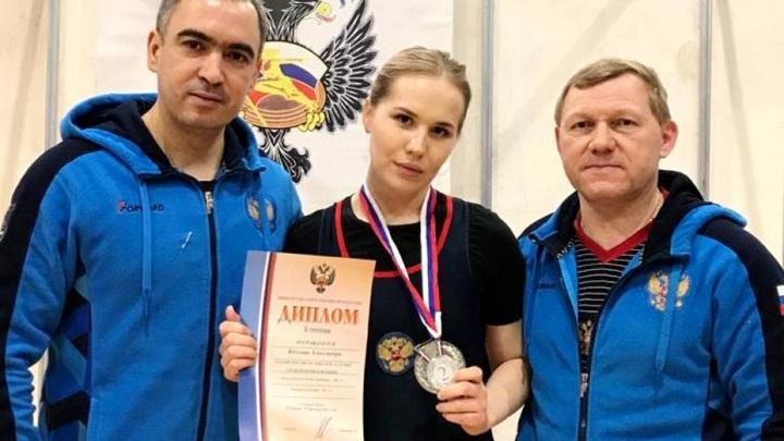 Спортсменка из Чувашии стала серебряным призером Кубка России по тяжелой атлетике