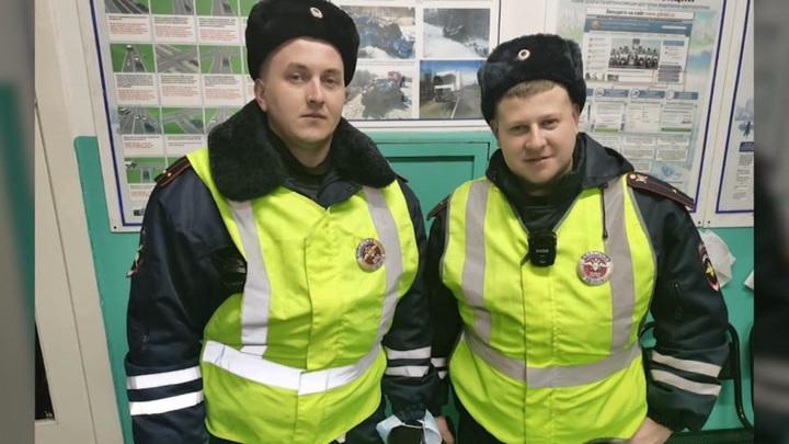 Спасение от холодной смерти: полицейские не считают себя героями