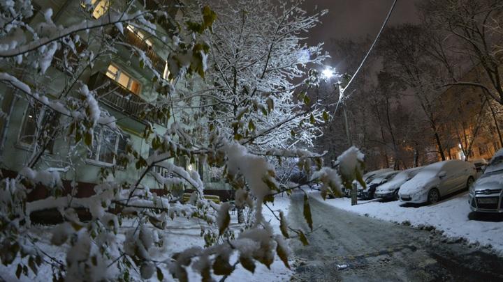 Мокрый снег и дождь ожидаются в Москве до конца рабочей недели