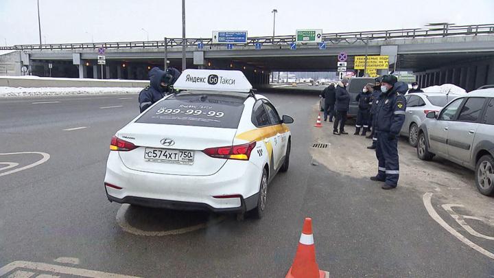 Таксист прострелил ногу пешеходу на северо-востоке Москвы