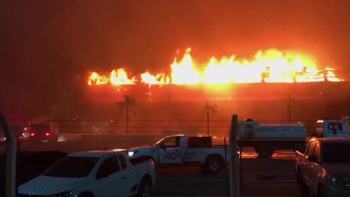 Пожар практически уничтожил главный автодром Аргентины