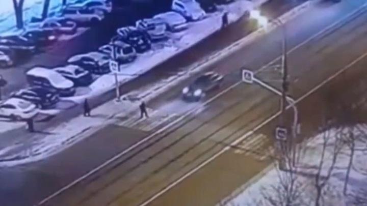 Смертельное ДТП на востоке Москвы попало на видео