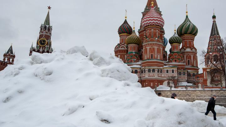 В Москву снегопад пришел практически по расписанию