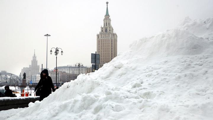 В субботу в Москве был установлен рекорд по количеству осадков